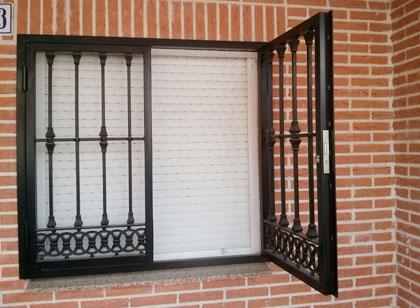 Galeria de trabajos de rejas de seguridad y decorativas - Rejas decorativas ...